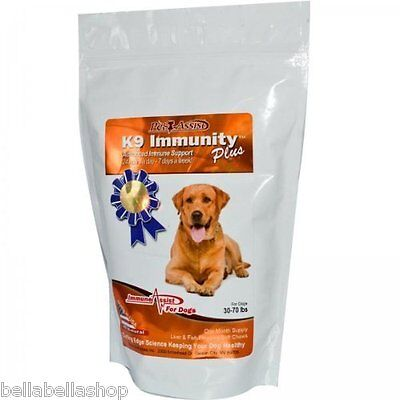 Aloha Medicinals Inc. K9 Immunity Plus for dogs 30-70 pounds 60 soft chews