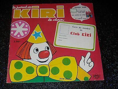 Le Journal De Kiri Le Clown - N° 8 - Decembre 1971 - Ortf