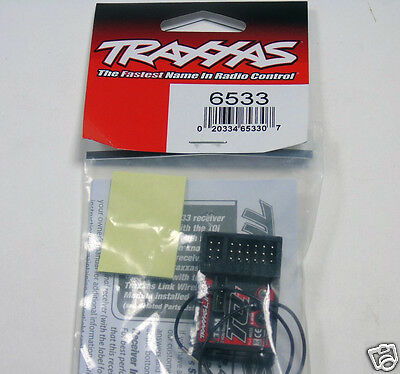 6533 Traxxas R/C Car Parts Receiver 2.4GHz TQi 5Ch Micro Telem/TSM Brand New UK