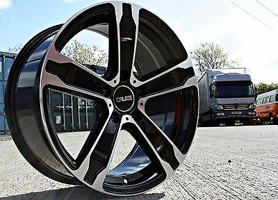 "18"" Cruize Cobra Alloy Wheels Extra Load Commercial 5X160 Van Weight Rated"