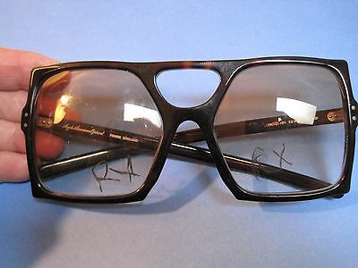Vintage Anglo American Optical brown designer Frame Eyeglasses RARE AUTHENTIC