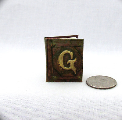 GRIMM DIARY Miniature Book Dollhouse 1:12 Illustrated Readable Book Wesen Lore