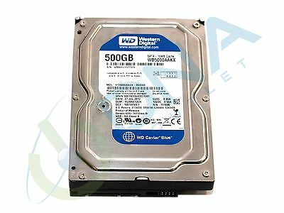 "Western Digital Wd5000Aakx 500Gb 3.5"" Sata Hard Drive - 100% Verified"