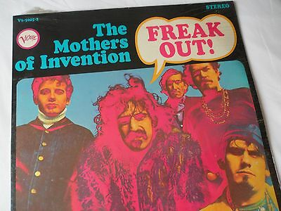 FRANK ZAPPA 1966 Original ***SEALED*** FREAK OUT LP__NOS Verve V6-5005-2