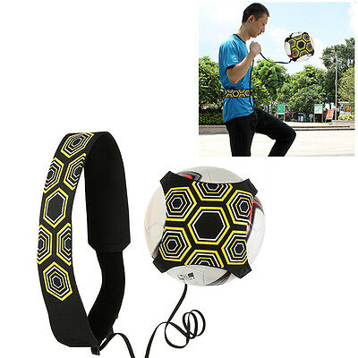 Football Training Soccer Practice Kick Trainer Solo Kick Waistband Returner
