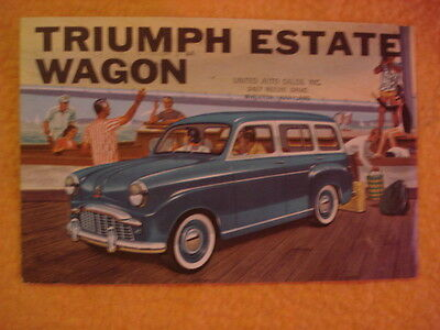 1960(?) Triumph Estate Wagon Brochure
