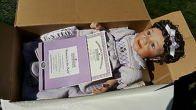 Ashton Drake Patricia In The Park Rare Porcelain Baby Girl Doll Limited Edition
