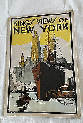 1926 Kings Views Of New York Large Vintage Old Book Pictures Photos Architecture