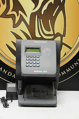 ADP Recognition System HandPunch HP-2000 Digital Biometric Hand Reader
