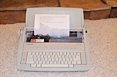 Brother GX-6750 Daisy Wheel Electronic Typewriter - Used