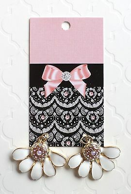 Boutique Earring Display Fashion Earrings Cards 70 Lace & Bow Hang Earring Cards