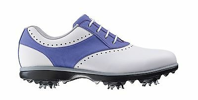 Footjoy Ladies Emerge Waterproof Golf Shoe White/Purple  (93907) 2016 Clearance