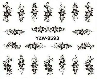 Stickers Ongles Water Décal Nail Art A-593 LIVRAISON 24/48H