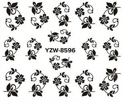 Stickers Ongles Water Décal Nail Art A-596 LIVRAISON 24/48H