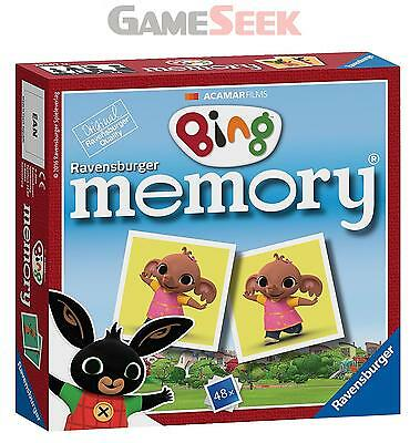 Ravensburger Bing Bunny Mini Memory - Toys Brand New Free Delivery
