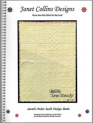 Westalee Design Template Sampler Set Low Shank Template By Sew