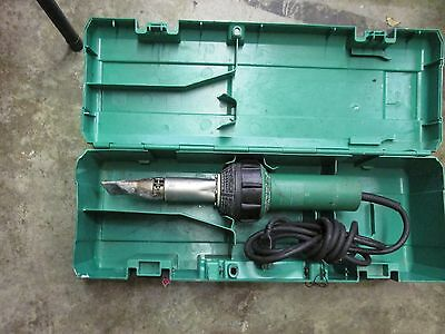 Leister Ch-6060 Hot-Air-Blower In Green Case