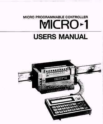 Software and Manuals for IDEC Micro 1