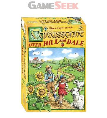 Carcassonne : Over Hill And Dale - Toys Brand New Free Delivery