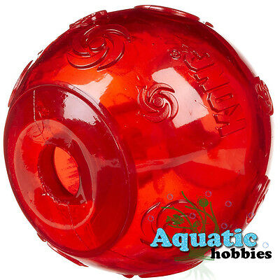 Kong Squeezz Large Size Ball For Dog Puppy Squeaks Toy Fetch Jouet Couin