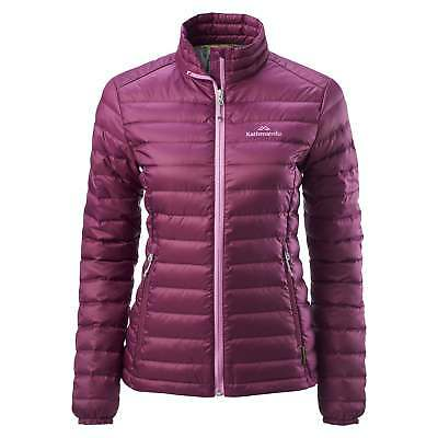 Kathmandu Heli Womens Lightweight Duck Down Coat Warm Puffer Jacket v2 Purple