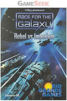 Race For The Galaxy - Rebel Vs Imperium - Games/puzzles Board Games Brand New
