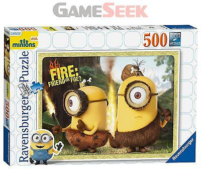 Minions Jigsaw Puzzle (500-Piece) - Toys Brand New Free Delivery