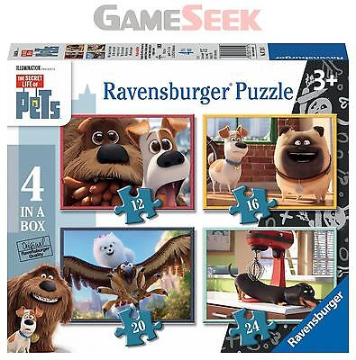 The Secret Life Of Pets 4 In A Box Jigsaw Puzzles - Games/puzzles Puzzles New