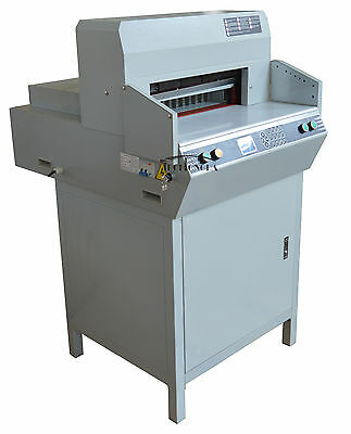 """Paper guillotine 18"""" 450mm Stack Heavy Book Paper Punch Cutter Printing shop"""