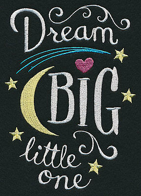 """Dream Big Little One""  - pillowcase  - can personalise"