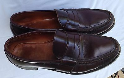 Vintage Men's Leather Bass Weejuns, Size 12 C,  Oxblood Color