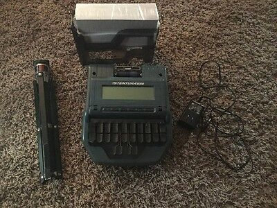 Stenograph Stentura 8000 Professional Court Reporter Writer + Accessories!