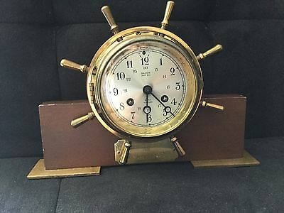 Vintage Salem Ship Clock