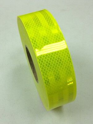 3M Diamond Grade Fluro Yellow 4083 Class 1W Reflective Tape 50mm x 2m Roll