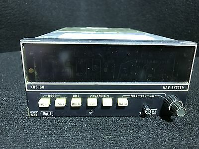 KNS 80 Navigation System FCC Data -King Radio - 066-4008-00 - Aviation
