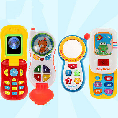 1pc New Electronic For Kids Baby Mobile phone Educational Learning Music toys