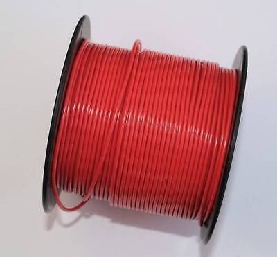 Layout Wire 0.12mm x 25 metre Roll Red 600ma