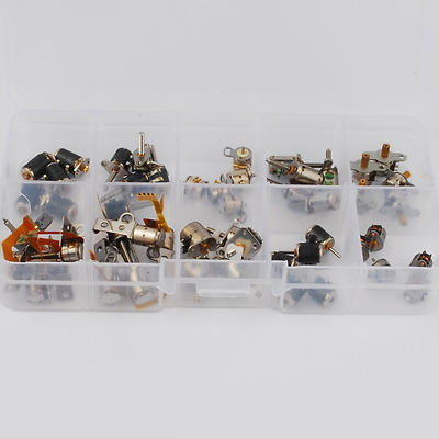 50pcs totally 5pcs each of 10 kinds 2 Phase 4 Wire dc micro stepper motor Mini