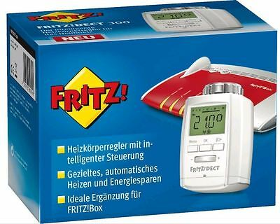 fritz dect 300 heizk rperthermostat f r fritz box dect smarthome neu eur 52 99 picclick de. Black Bedroom Furniture Sets. Home Design Ideas