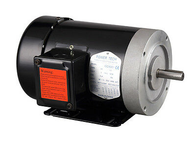 General Purpose 3HP Three Phase Motor, 5/8'' Shaft, 3450RPM, 56C Frame, TEFC