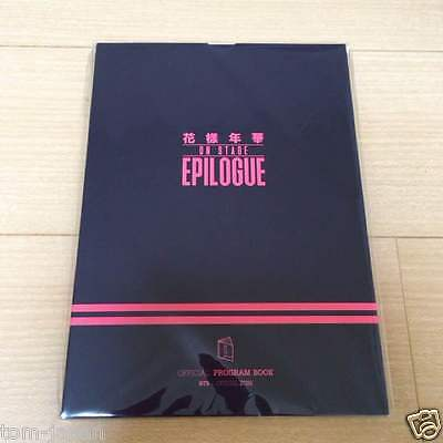 BTS Bangtan Boys LIVE HYYH on stage Epilogue  Official PROGRAM BOOK from Japan