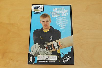Hampshire Royals Cricket - Yorkshire Bank 40 Official Tournament Guide 2013