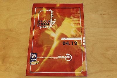 BBL Cup Final - British Basketball Programme - Sunday 4th December 2005
