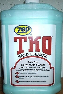 Zep Tko Hand Cleaner, Triple Play (3) Gallons With Pump
