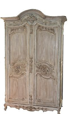 Antique Armoire, Louis XV  Armoire, Cabinet, French Armoire, Wardrobe,