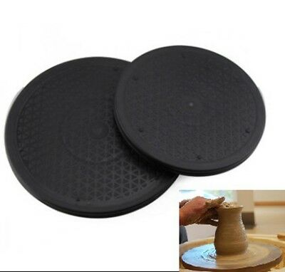 Pottery Turntable 25/30cm Clay Wheel Turning Sculpture Tool Plastic Rotary Plate