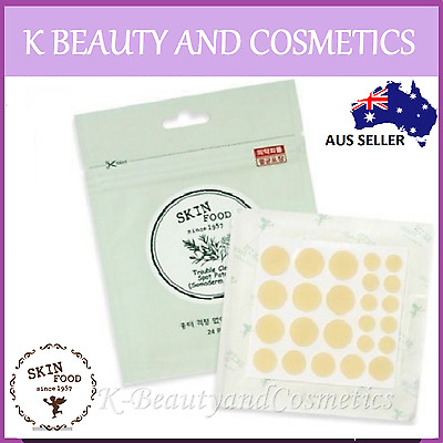 [Skinfood] Trouble Clear Spot Patch (24 Patches) Hydrocolloidal Somaderm Acne