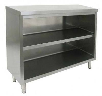 """Commercial Stainless Steel 16"""" x 36"""" Storage Dish Cabinet NSF"""