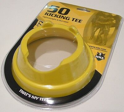 RELIANCE NRL FOOTY KICKING TEE 50mm *NEW IN PACKAGING*