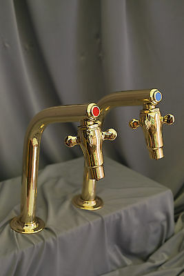 Supa Taps Brass Retro Ktichen Taps Reclaimed & Fully Refurbished Supa Taps